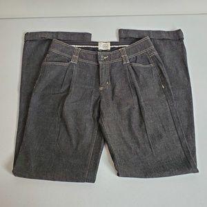 White House Black Market Blanc Jeans Trouser Leg